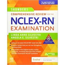 Saunders Comprehensive Review for the NCLEX-RN® Examination, 8e 2020 تمام رنگی ساندرز پرستاری