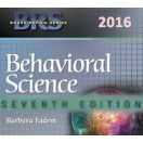 BRS Behavioral Science, 7th edition, 2016