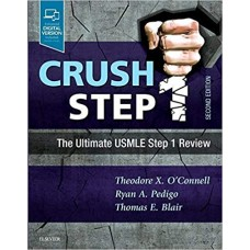 Crush Step 1: The Ultimate USMLE Step 1 Review 2nd Edition تمام رنگی
