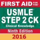 First Aid for the USMLE Step 2 CK, Ninth Edition 2016 تمام رنگی