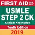 First Aid for the USMLE Step 2 CK, Tenth Edition 2019 تمام رنگی