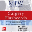 Master the Wards: Surgery Flashcards 2016 جراحی کونراد فیشر