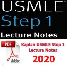 e-BOOK - Kaplan USMLE Step 1 Lecture Notes,2020