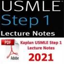 e-BOOK - Kaplan USMLE Step 1 Lecture Notes,2021