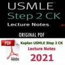 e-BOOK - Kaplan USMLE Step 2 CK Lecture Notes,2021